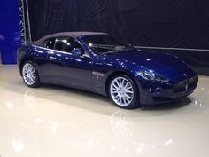 Maserati Convertible at istanbul AutoShow 2012 - Photo by Mehmet Subasi