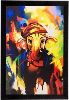 Arts And Crafts Advice To Get Started Today Ganesha Drawing, Lord Ganesha Paintings, Lord Shiva Painting, Ganesha Art, Krishna Painting, India Painting, Ac2, Oil Pastel Art, Art Drawings For Kids