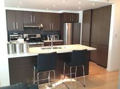 Image result for contemporary kitchen cabinets