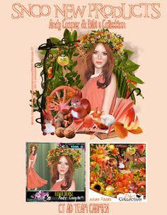 Carmen designs: Flower Orange