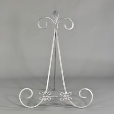 14 inch $6.50 each Spiral Table Top Easel, Wrought Iron decor