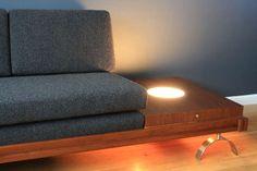 Mid-Century Modern Platform Sofa by Martin Borenstein