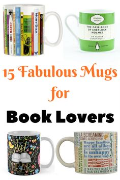 15 Fabulous Mugs for Book Lovers