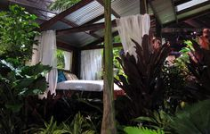 Love this Outdoor space!      Outdoor Rooms and Veggie Gardens Hawaiian Style on http://www.urbangardensweb.com