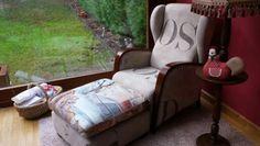 Mi nuevo tapizado para el sofa