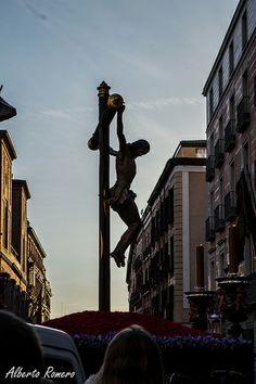 Stmo. Cristo de la Fe y del Perdón - Procesión de los Estudiantes. Domingo de Ramos, Madrid 2014