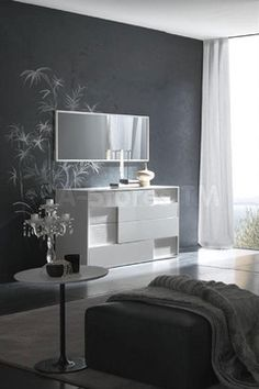 Nightfly Dresser In White Contemporary Dressers Chests And Bedroom Armoires