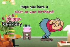 A fun way to plan for a blast on your friend's #Birthday. Send them this #Funny birthday Ecard. www.123greetings.com