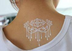 Белая хна как альтернатива классической татуировке