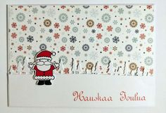 Joulukortti joulupukki Christmas Cards, Snoopy, Fictional Characters, Art, Christmas E Cards, Art Background, Xmas Cards, Kunst, Christmas Letters