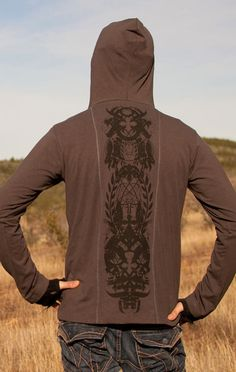 Nomads Hemp Wear - men's: Icon L/S hoodie