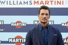 David Gandy Photos Photos - Male supermodel and car enthusiast David Gandy attends the VIP opening of Terrazza Martini Darsena on September 1, 2016 in Milan, Italy. - Martini Activity Attends the Italian Grand Prix