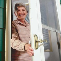 Replace Doorknobs With Levers - Make a Home Safe for Older Folks: Easy upgrades for older homeowners Read more: http://www.familyhandyman.com/smart-homeowner/home-safety-tips/make-a-home-safe-for-older-folk