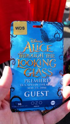 As you know, I was invited to LA once again to celebrate the Red Carpet Premiere of the movie Alice Through The Looking Glass, courtesy of Disney.