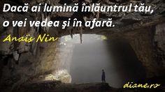 Lumina si intuneric Anais Nin, Alba