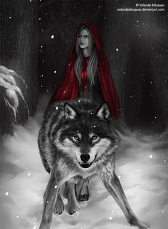And the wolf protected her with a devoted love and loyalty