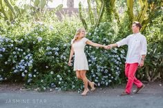 San Juan Capistrano Engagement : Jenna and Jim - Jasmine Star Blog