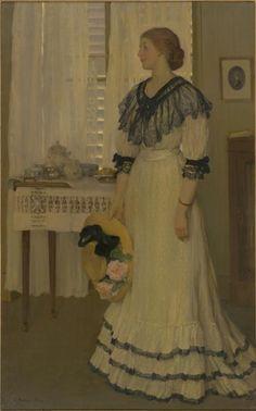 The Muslin Dress, Emanuel Phillips Fox