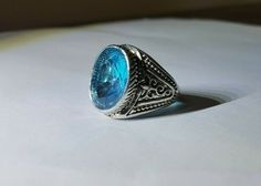 """Up for your consideration is a beautiful, Authentic David Yurman 925 Sterling Silver Blue Topaz Diamond Albion Ring Size It is in excellent condition. This Authentic David Yurman Ring is hallmarked """"DY Logo D. Blue Topaz Diamond, Silver Diamonds, Tanzanite Ring, David Yurman, Gemstone Rings, Gemstones, Sterling Silver, Crystals, Jewelry"""