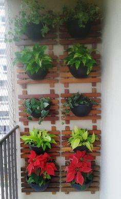 Horta ou Jardim Vertical / Painel + Vaso