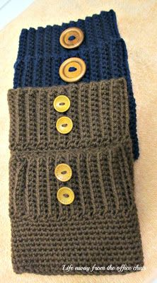 Life Away From The Office Chair: Boot Cuffs