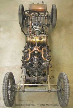 Richard Scaldwell's Sensational JAP V8-Powered GN Cycle Car | The Old Motor Old Race Cars, Pedal Cars, Old Cars, Cycle Kart, Vintage Race Car, Car Engine, Courses, Custom Cars, Cars And Motorcycles
