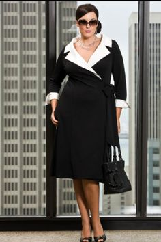 I absolutely love this plus size look, it's works so well together
