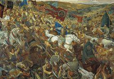 Battle of Kulikovo 1380.