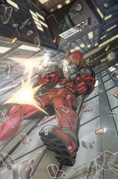 Deadpool by Alvin Lee