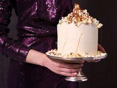 Tort z popcornem