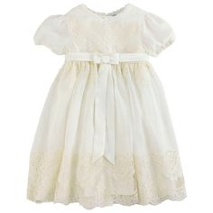 Just add an overlay of lace to a basic girl's dress and voila!  A little less expensive than the 791 Euros.....