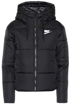 Nike Reversible Hooded Jacket In Black Nike Coats, Nike Winter Coats, Nike Winter Jackets, Black Nike Jacket, Red Bomber Jacket, Hooded Jacket, Bomber Jackets, Nike Outfits, Teen Fashion Outfits