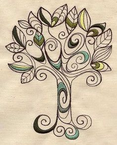 Doodle Earth Day Tree -