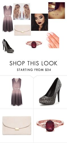 """*)*"" by fearless-warrior ❤ liked on Polyvore featuring Mansur Gavriel and Elegant Touch"