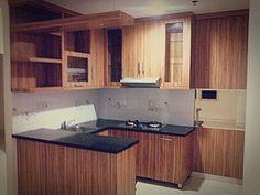 Nice kitchen set design @ apartment