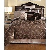 Waterford Bedding, Lansing Collection - from Macy's (pillows, too many colors on comforter)