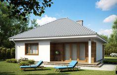 Projekt domu parterowego Z64