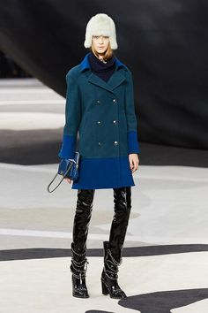 Chanel F/W 2013... No to the hat. Yes to everything else.