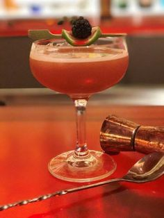 This daiquiri from Red Bar and Lounge uses Muroise liqueur to make it extra seductive