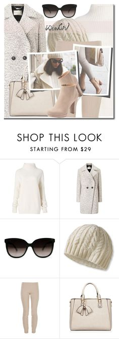 """""""WINTER SWEATER"""" by shoaleh-nia ❤ liked on Polyvore featuring Diane Von Furstenberg, Windsmoor, L.L.Bean, The Row, ASAP and LC Lauren Conrad"""