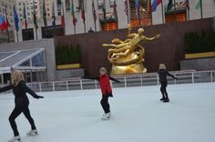 JoJo's Cool Workout at the Ice Skating Rink at Rockefeller Center Photo Gallery: Skating and Learning During JoJo's Cool Workout - October 15, 2015