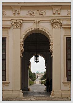 Belvedere entrance (Vienna, Austria)