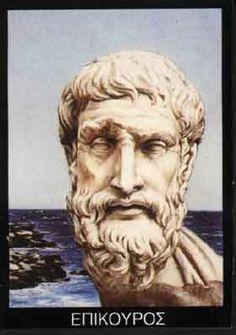 Greek philosopher Epicurus - he was all about hanging out with your friends, being vegetarian, ignoring consumerism and he used to throw big ass birthday parties for himself.  And oh yeah, he kinda invented scientific thought.
