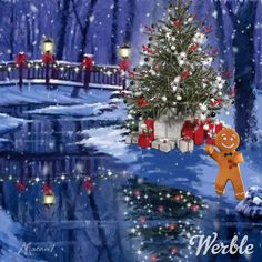Christmas Videos, Christmas Scenes, Christmas Pictures, Diy Christmas Yard Decorations, Vintage Christmas, Christmas Diy, Cute Good Night, Animated Love Images, Merry Christmas Quotes