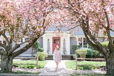 Spring in Providence with Abby Capalbo Gingham Dress Waxing Poetic, Spring Has Sprung, New England, The Neighbourhood, Places To Visit, Gingham Dress, Mansions, House Styles, Pretty