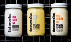 Fatworks Premium Cooking Oil — The Dieline