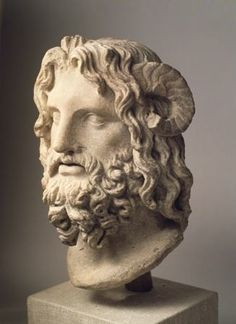 Alexander and the Hellenization of the Ancient World--- Statue of the Egyptian god Serapis who was a combination of the Egyptian Osiris and Greek Zeus. The purpose was to depict a common ground between Greek and Egyptian Culture Roman Sculpture, Sculpture Art, 7 Arts, Greek And Roman Mythology, Greek Gods, Classical Greece, Greek Art, Ancient Artifacts, Ancient Greece