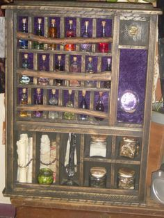 would love to make this. and store my essential oils in the bottles!!! (: