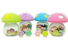 Mini Toadstool Mushroom Eraser Set - Kawaii