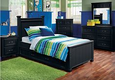 Cottage Colors Black 5 Pc Twin Panel Bedroom . $879.99.  Find affordable Twin Bedroom Sets for your home that will complement the rest of your furniture.
